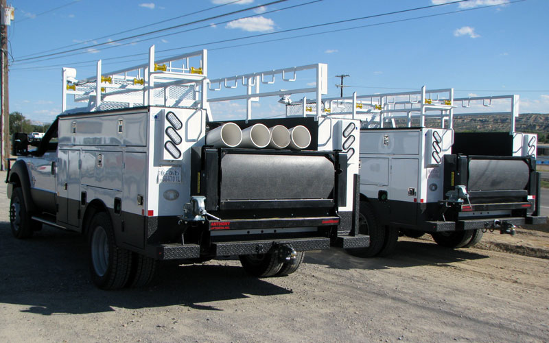 electrical line body truck