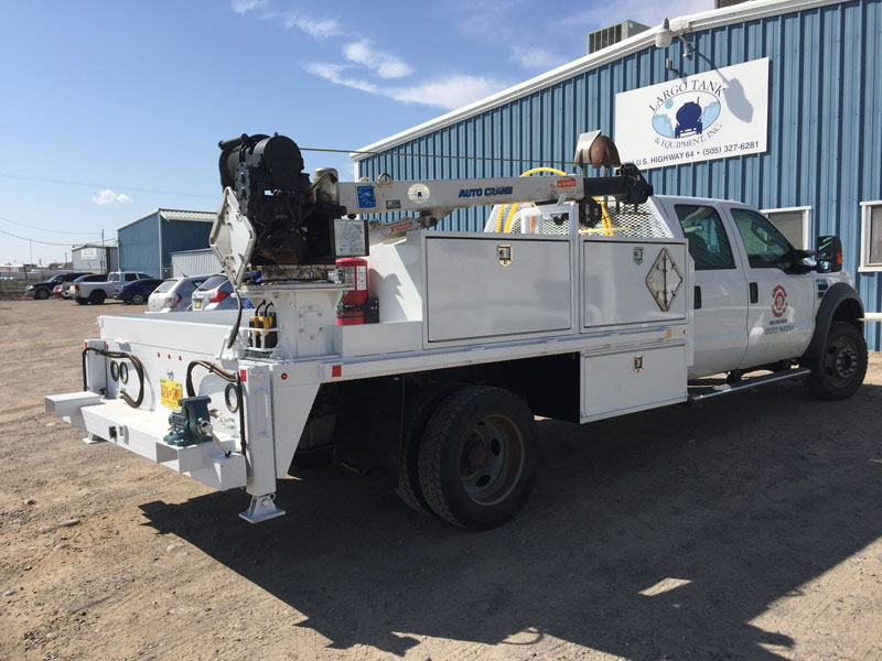 propane service truck