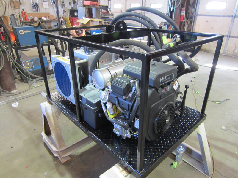 standalone propane pump
